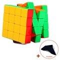 Профессиональный Скорость Фантазии 4x4x4 Magic Cube Брелок Брелок Головоломки Скорость Игрушка Три Слоя 4*4 волшебные Кубики Логические Подарков