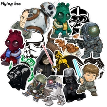 Flyingbee 35 Pcs Cool Sticker Waterproof Stickers for Luggage Laptop Skateboard Wall DIY Home Decoration Gifts X0109