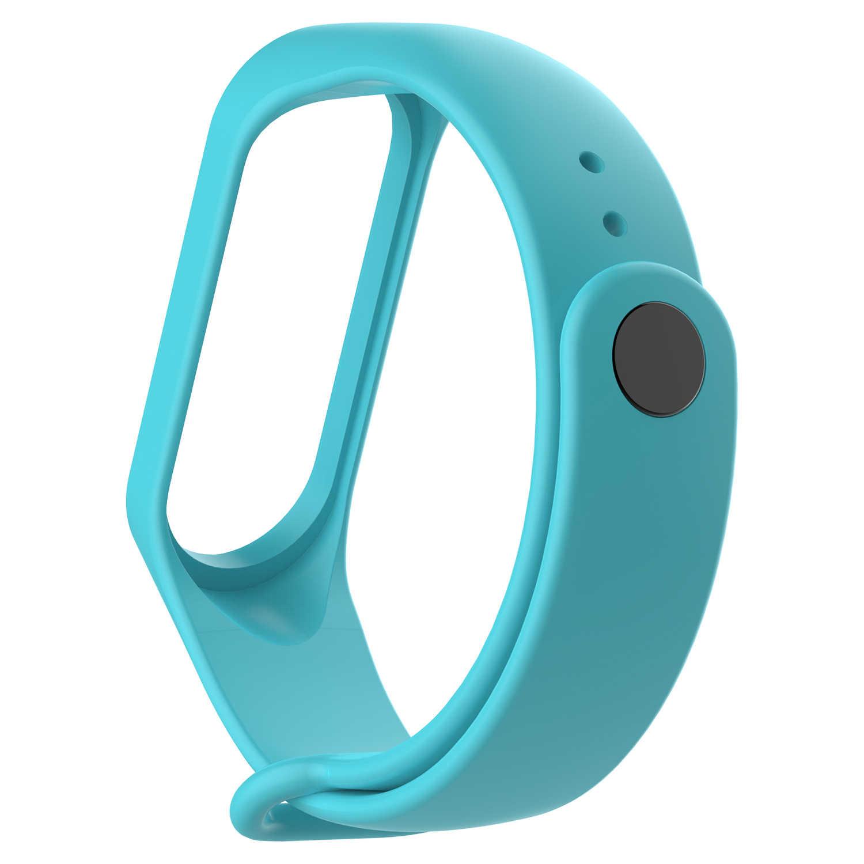 Neue Mode Armbänder für Xiao mi mi Band 3 4 Sport Armband Silikon Handgelenk Gurt für Xiao mi mi band3 4 Armband Blumenarmband-weinlese