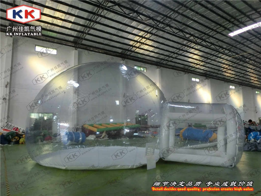 transparent bubble tent inflatable tent for outdoor indoor use  big inflatable lawn tent transparent pvc inflatable bubble tent for hotel use