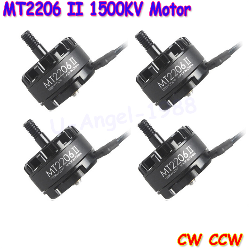 4set/lot Original Emax Cooling New MT2206 II 1500KV Brushless Motor 2 CW 2 CCW for RC QAV250 F330 Multicopter wholesale