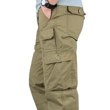 ICPANS Tactical Pants Men Military Army Black Cotton ix9 Zip
