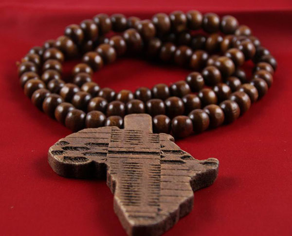 Men ladies wooden africa map continent african rosary bead chain men ladies wooden africa map continent african rosary bead chain necklace wood pendant 4 colors by epacket free shipping in pendant necklaces from jewelry mozeypictures Choice Image
