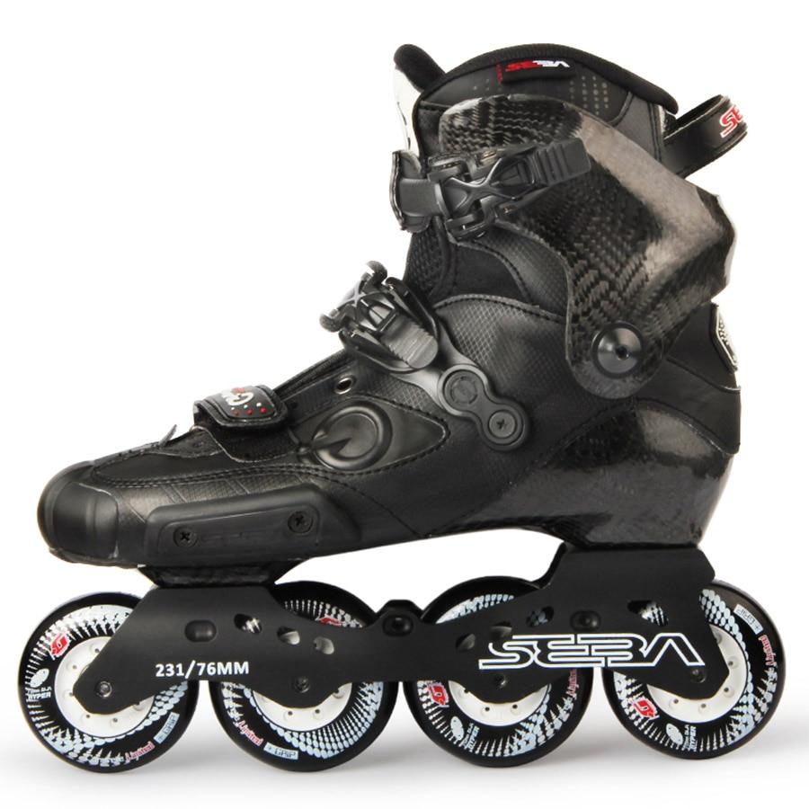 Patin japonais Original nouveau SEBA IGOR professionnel patins à roues alignées adultes chaussures en Fiber de carbone Slalom toboggan Patines libres