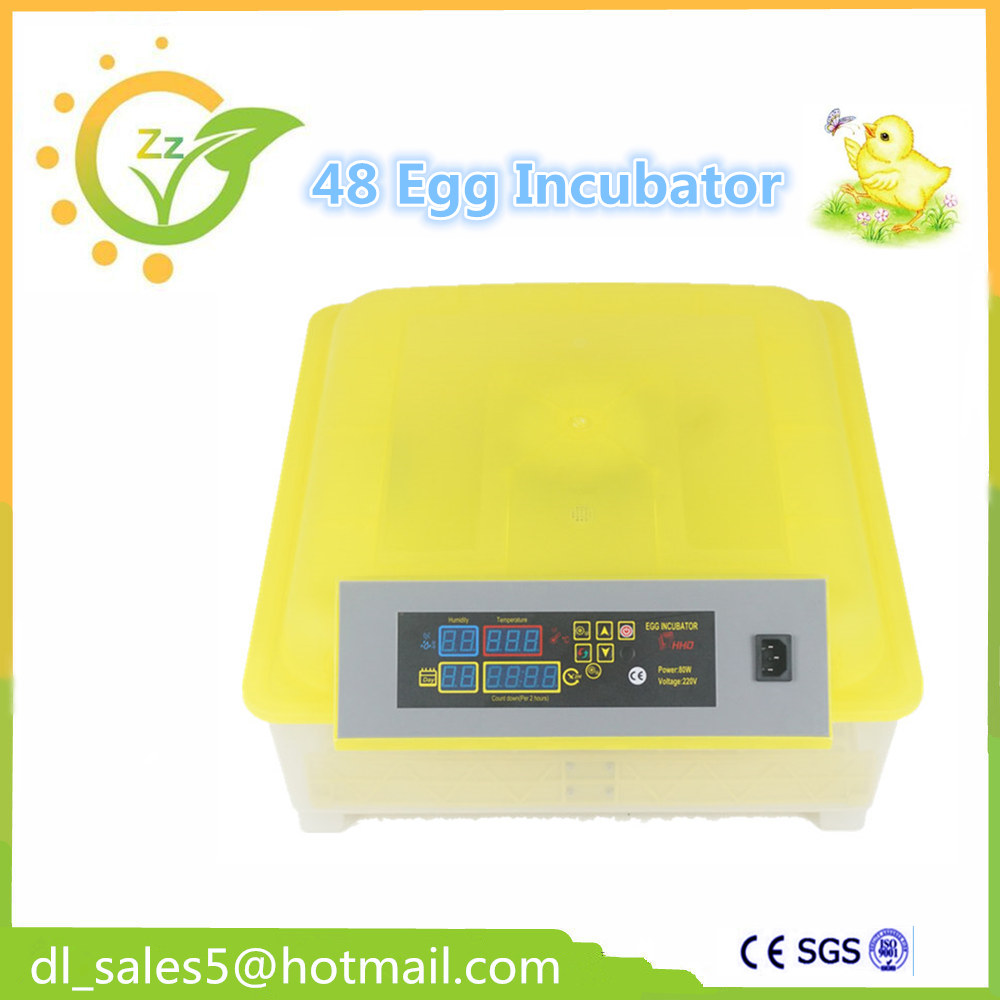 Automatic Mini 48 Egg Incubator Poultry Incubator Brooder Machine Hatcher for Chicken Duck Bird Pigeon chicken egg incubator hatcher 48 automatic mini parrot egg incubators hatcher hatching machines