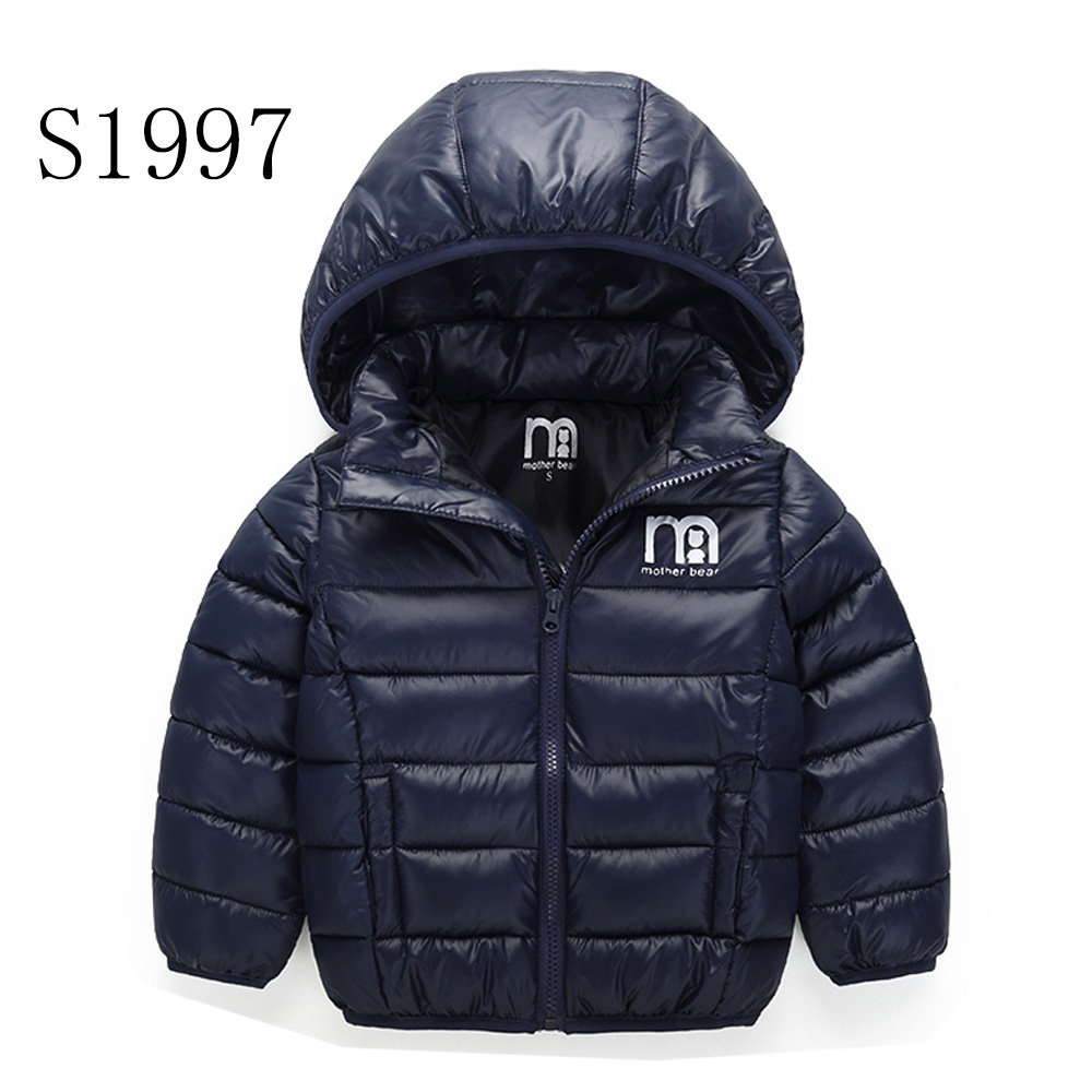 Boys Down Coat 2017 New Brand Baby Girl Winter Coats Kids Warm Outwear Jacket Solid High Quality 2-8 Years new 2016 baby down coats set baby down jacket suspenders girl
