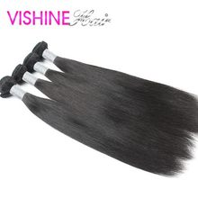 Hot 7A 4Pcs Malaysian Virgin Hair Straight Human Hair Weave Ms lula hair Free Shipping Top Quality straight hair Tangle free