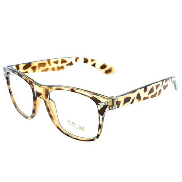 674851dc6f Montura de gafas de 3 colores montura de lentes transparentes marco  cuadrado Unisex para hombre y