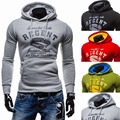 Hoodies Men 2017 Brand Male Long Sleeve Hoodie Magnetite Letter Word Sweatshirt Mens Moletom Masculino Hoodies Slim Tracksuit S