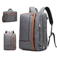 2019 3in1 Women Male Backpack Men Laptop Bag 17 Inch Notebook Backpacks 15.6 Shoudler Back Bags Business Travel Shcool Bagpack