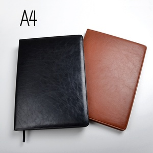 Image 1 - A4 notebooks lined paper 100 sheets(200pages) line pages notepad agenda diary Organizer journal Stationery Store office supplies