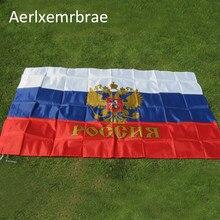 Бесплатная доставка, подвесной российский флаг 3 фута x 5 футов, российский коммунистический флаг социалистической империи императора