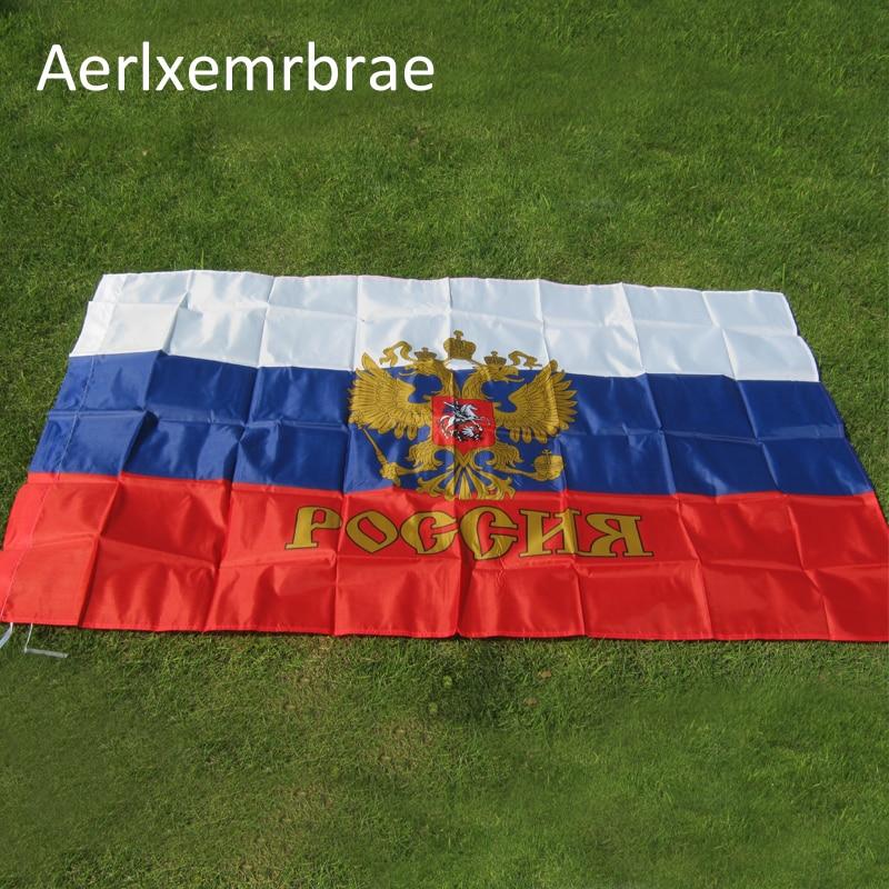 Freies verschiffen 3ft x 5ft Hängende Russland Flagge Russische Moskauer sozialistische kommunistische Flagge Russisches Reich Kaiserpräsident Flagge