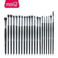 MSQ Professional 20Pcs Sets Eye Shadow Foundation Eyebrow Lip Brush Makeup Brushes Cosmetic Tool Make Up