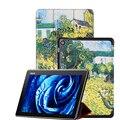 """Печатных кожаный чехол для 2015 нью-asus Zenpad 10 Z300C Z300CL Z300CG 10.1 """" планшет чехол + защитная пленка + стилус"""