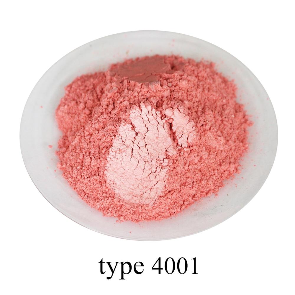 GüNstiger Verkauf Typ 4001 Pigment Perle Pulver Gesunde Natürliche Mineral Glimmer Pulver Diy Farbstoff Farbstoff, Verwenden Für Seife Automotive Kunst Handwerk, 50g Up-To-Date-Styling