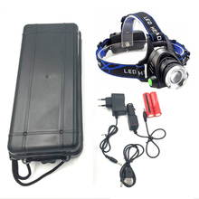 Z30 Super bright 5000LM XML-L2 LED Headlamp LED Headlight 18650 head flashlight led head lamp head light