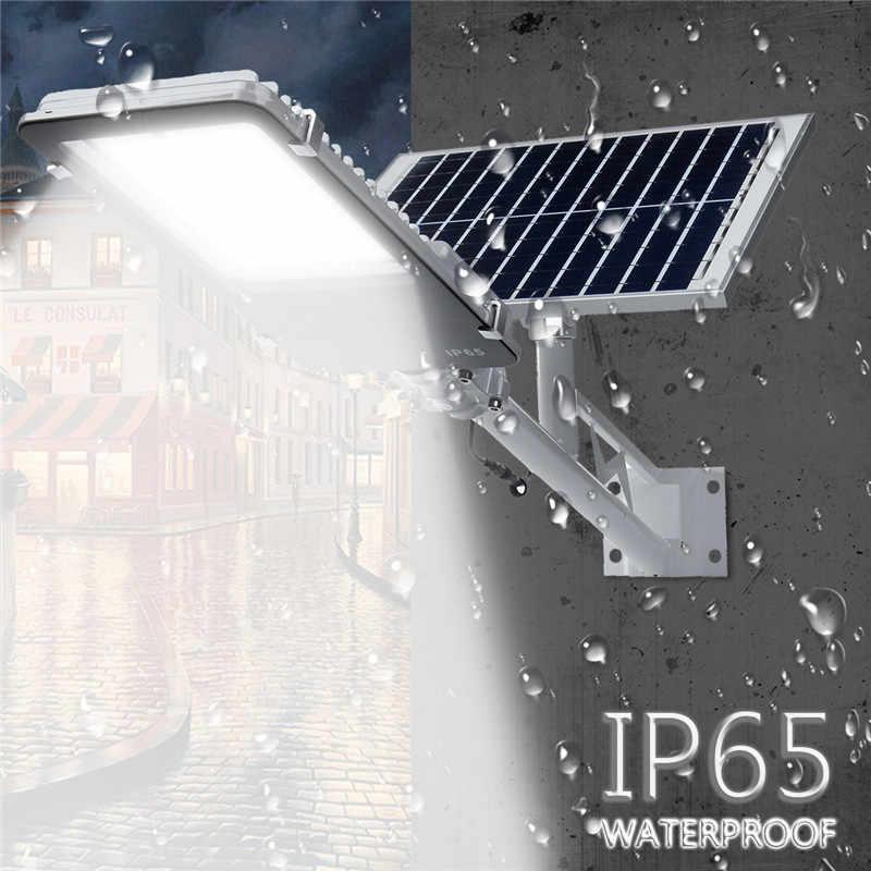 Mising 10/20/30/50 Вт открытый Водонепроницаемый светодио дный солнечные Уолл-стрит путь световой поток лампы для сада Двор 3 режима работы