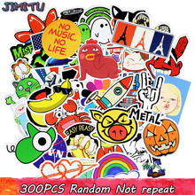 300pcs Graffiti Cartoon Sticker Random Cool Stickers for Kids Sticker on DIY Bedroom Laptop Luggage Skateboard Car Moto Bicycle