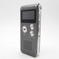 Nueva Llegada 4 GB de Carga Rápida de Grabación Estéreo Profesional de Reducción de Ruido de Audio Digital Grabadora de Voz Del Dictáfono Reproductor Mp3