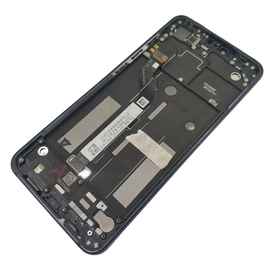 Image 4 - Dla Xiao mi mi 8 Lite/mi 8X wyświetlacz LCD + rama ekran dotykowy digitizer montaż wyświetlacz LCD 10 punkt dotykowy naprawa części w Ekrany LCD do tel. komórkowych od Telefony komórkowe i telekomunikacja na