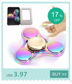 Colorful Creative Fidget Toy Titanium Alloy EDC Hand Spinner Metal Finger Spinner Anti Stress Toy for Autism ADHD