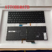 كمبيوتر محمول الولايات المتحدة الإنجليزية لوحة المفاتيح ل Xiao mi mi دفتر برو 15.6 بوصة الهواء المحمول 9Z. NEJBV.101 NSK Y31BV mx250 مع لوحة المفاتيح الخلفية