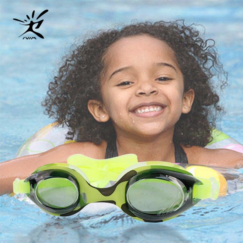 Anti Fog Children Kids Swimming Goggles Safety Boy Girl Anti-UV Waterproof Silicone Swim Eyewear Eyeglasses Adjustable