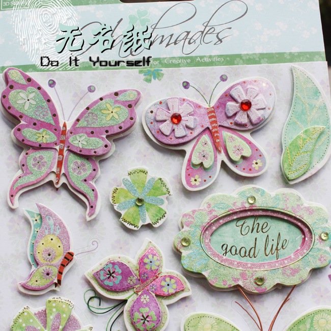 3d scrapbook stickers 3d wedding themed stickers for Stickers 3d pared