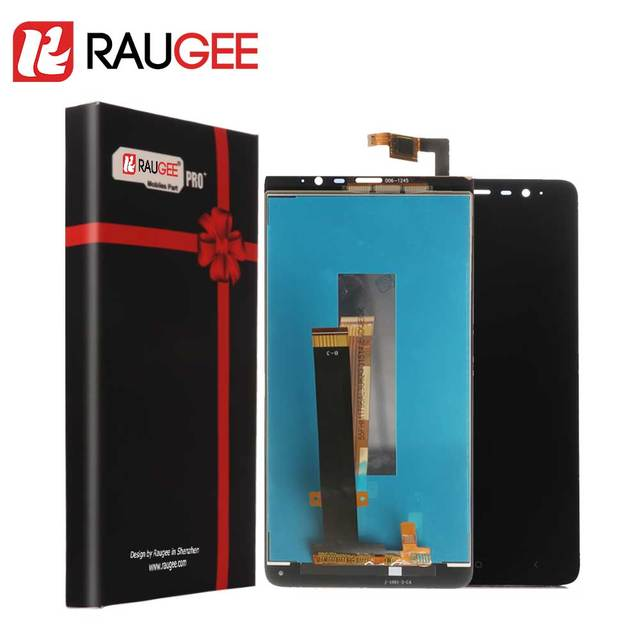 Raugee LCD Screen for Redmi Note 3 LCD Display Touch Screen Digitizer Replacement With Frame for Xiaomi Redmi Note 3 Pro (150mm)