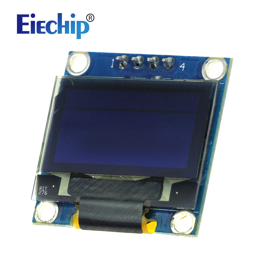 Free shipping Smart Electronics 0.96 Inch Yellow Blue OLED 128X64 OLED LCD LED Display Module for arduino IIC I2C Communicate