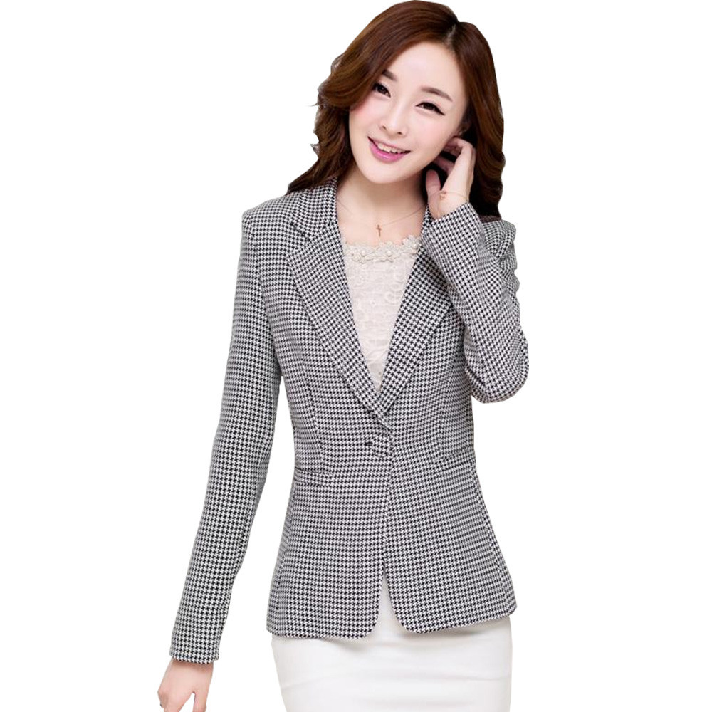 Black And White Blazer Womens Search On Aliexpress By Image ...
