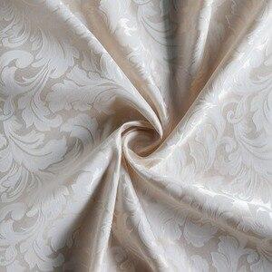 Image 2 - ستائر حمام مصنوعة من قماش مقاوم للماء من ورق الجاكوارد والبوليستر ستائر حمام أنيقة أوروبية ستارة حمام سميكة