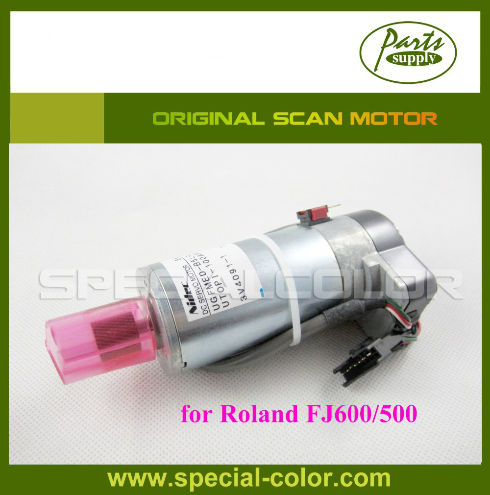 Made in Japan Original Roland Scan motor for roland FJ600/500 printer Servo Motor original dx5 printer head made in japan with best price have in stock for sale