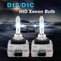 2pcs AC 12v 35w D1S D1C Xenon Lamp 4300k 5000k 6000K 8000K 10000k 120000k Hid Xenon Car Headlight Bulb Auto
