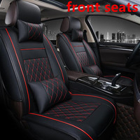 High quality Leather car seat cover for ford focus 2 3 S MAX fiesta kuga 2017 ranger mondeo mk3 accessories covers for vehicle