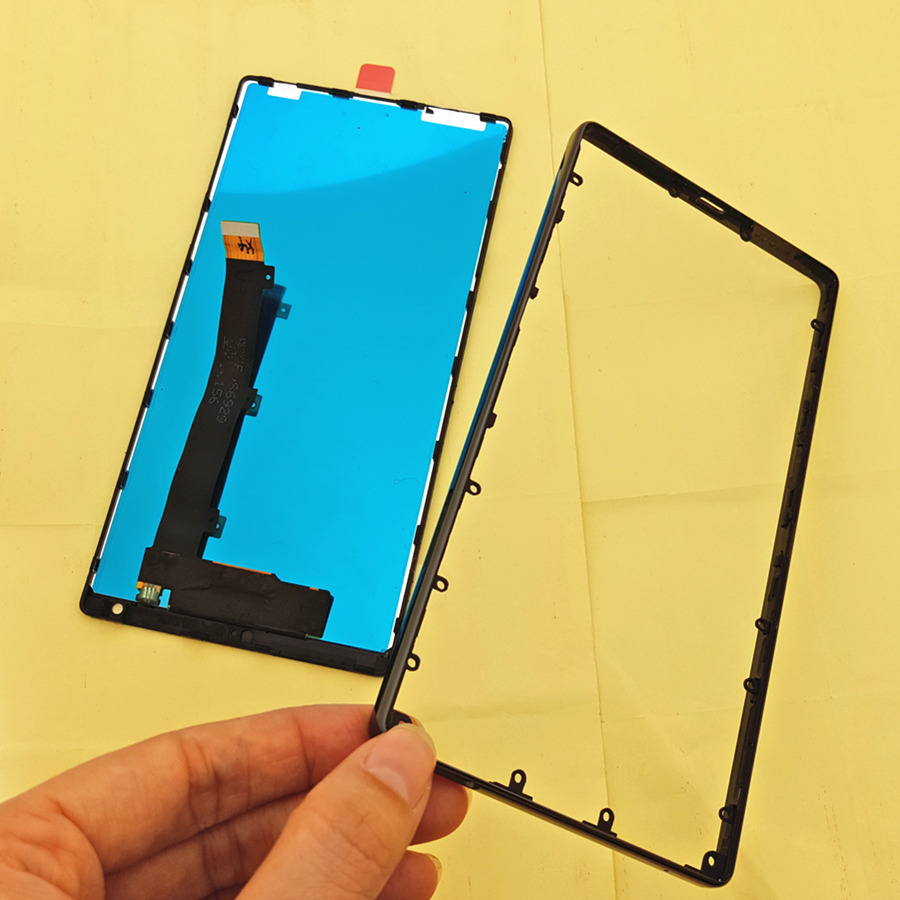 """Joliwow! FOR Xiaomi Mi MIX LCD Display Touch Screen With Frame+Ceramic Frame Replacement For 6.4"""" Xiaomi Mix Pro"""