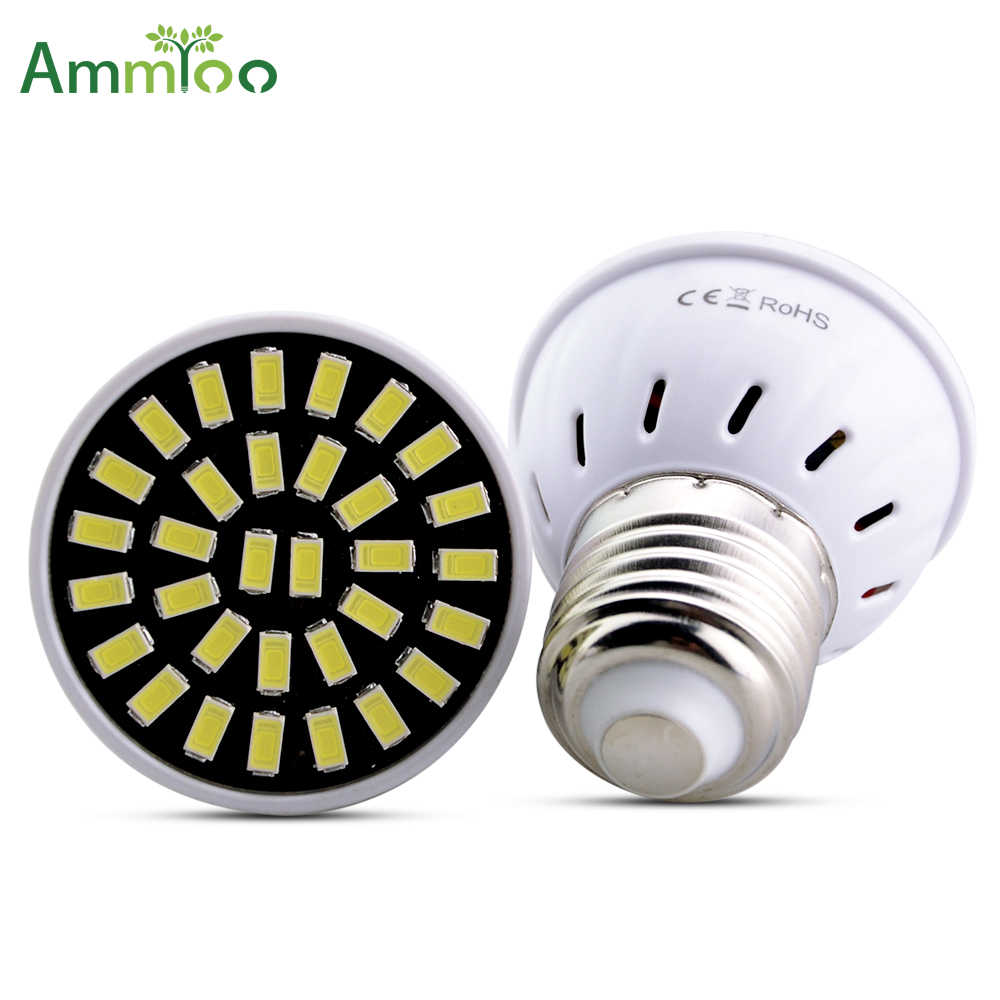 E27 Lampada led Gloeilamp 4 w 6 w 8 w Led Lamp 110 v 220 v SMD 5733 bombillas SpotLight LED Lampen Voor Indoor Home Decoraties