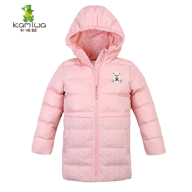2017 Girls Winter Coats And Jackets Kids Outwear Down Jacket Girls Clothes Cotton-padded Parkas Children Baby Girls Clothing 2017 winter children cotton padded parkas clothes baby girls