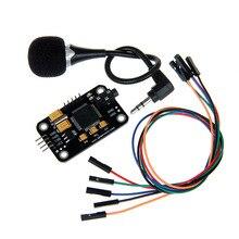 Ses Tanıma Modülü ve mikrofon Dupont Hız Tanıma ile uyumlu Arduino