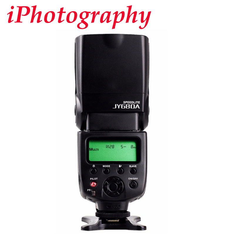 Viltrox JY-680A Universale Master Slave Flash Speedlight per Canon per Pentax per Olympus per Nikon d7100 d3100 d90 DSLR Camera