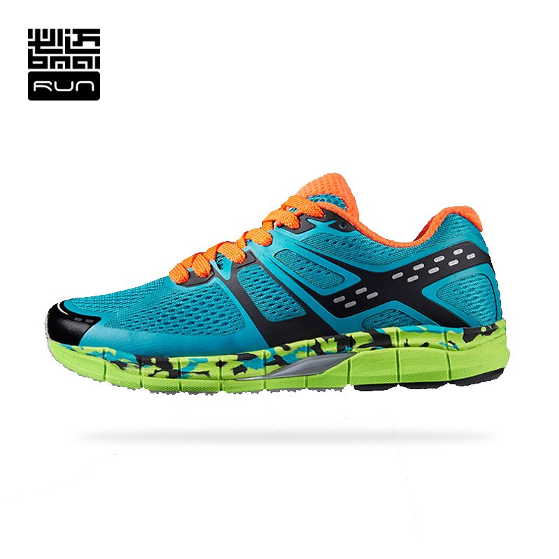 ФОТО BMAI Woman Cushioning Running Shoes Skid-proof  Athletic Shoes Breathable Mesh Outdoor Sport Sneakers Woman