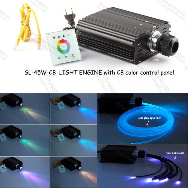 cb kleur 45 w led glasvezel lichtbron generator voor onderwater led verlichting badkuipen