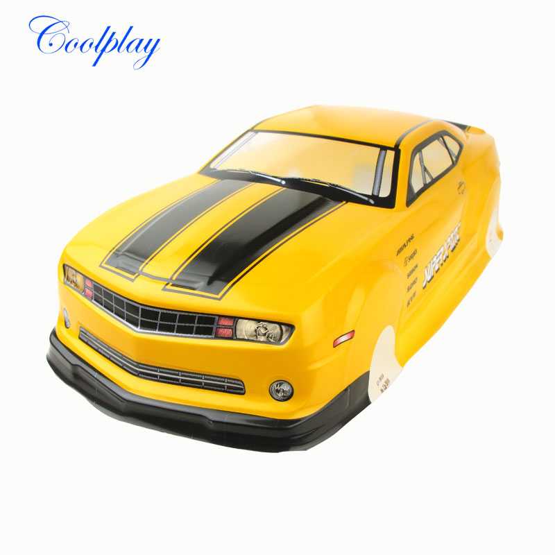High quality 1/10 RC Car Chevrolet Camaro Accessories/Parts 1:10 RC Car Body Shell for Car Model Collectors } cheverolet monza ixo chevrolet car 1 43 model