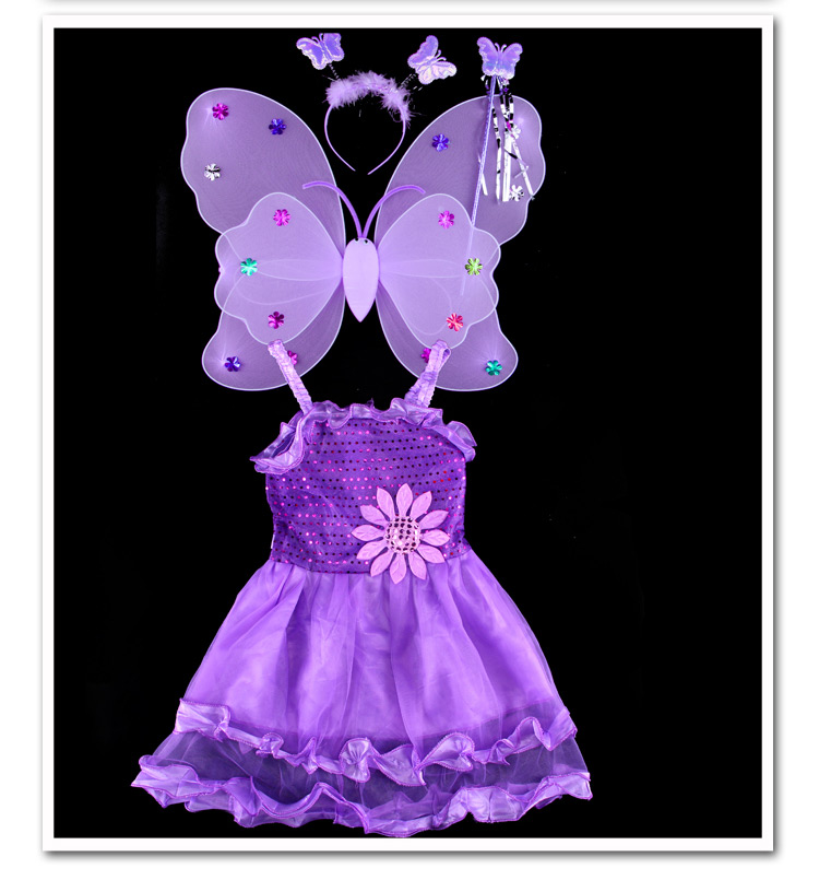 Fashion christmas dress girls party accessories children's halloween costumes for girls party dress kids cute birthday dresses baby girls halloween pumpkin dress girls halloween stripe ruffle dress halloween party dress long sleeve with accessories
