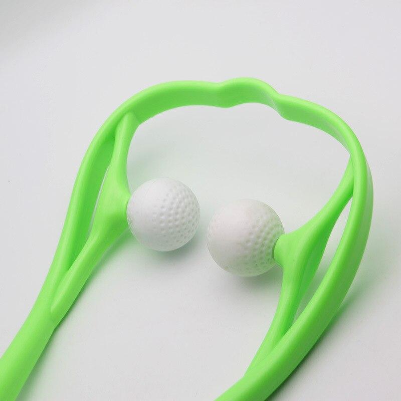 Neck-Roller auto-massage des cervicales nuque et cou