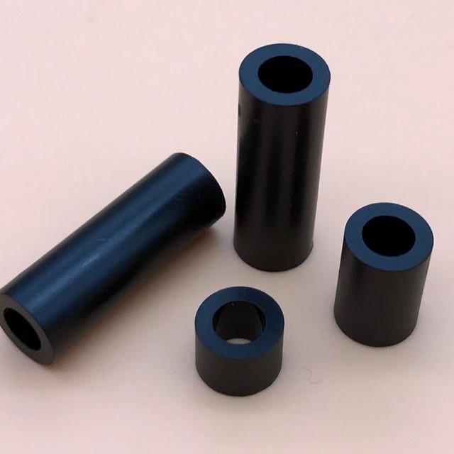50x Plastic Nylon Round Column Standoff Spacer Washer 4 x 5mm For Screw