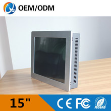 15″ embedded panel pc Intel D525 1.8GHz 4gb ddr3 32g ssd LPT&PCI industrial computer Resolution 1024×768 touch screen