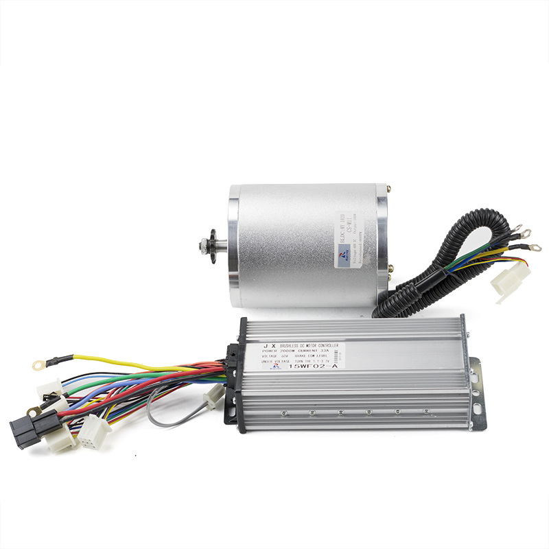 New 60V <font><b>2000W</b></font> <font><b>DC</b></font> <font><b>Brushless</b></font> <font><b>Motor</b></font> With 15MOSFET 33A BLDC Controller <font><b>Motor</b></font> Ebike Kit For Electric Bike Scooter Engine 4600RPM 4N.m image