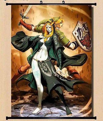 The Legend Of Zelda Twilight Princess Home Decor Poster